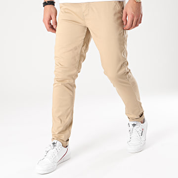 American People - Pantalon Chino Motor Beige