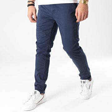 American People - Pantalon Chino Motor Bleu Marine