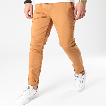 American People - Pantalon Chino Motor Camel