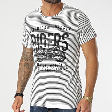 American People - Tee Shirt Teus Blanc