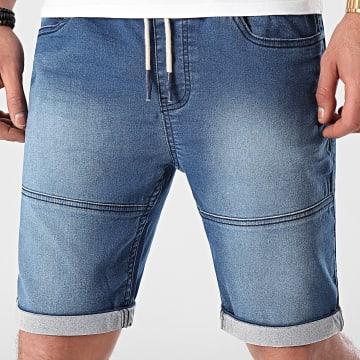 American People - Short JoggJean Soter Bleu Denim