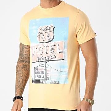 American People - Tee Shirt Team Orange