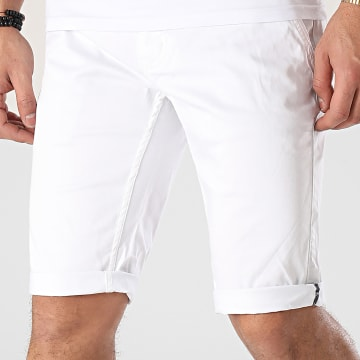 Blend - Short Chino Most Blanc