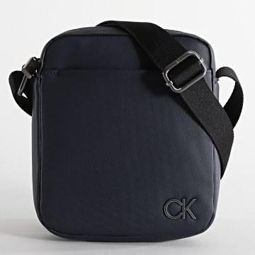 Calvin Klein - Sacoche Reporter 6683 Bleu Marine