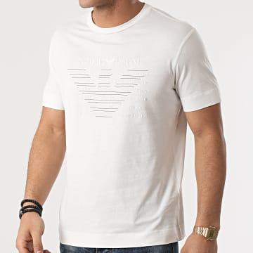 Emporio Armani - Tee Shirt 3K1TE1-1JULZ Ecru