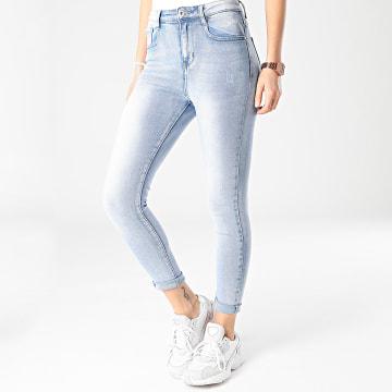 Girls Outfit - Jean Skinny Femme B806 Bleu Wash