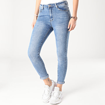 Girls Outfit - Jean Skinny Femme R792 Bleu Denim