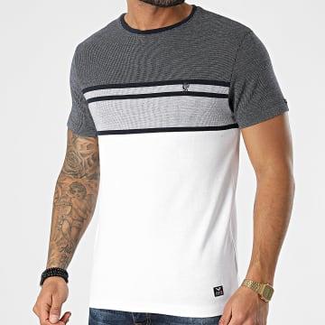 MZ72 - Tee Shirt Trickle Blanc