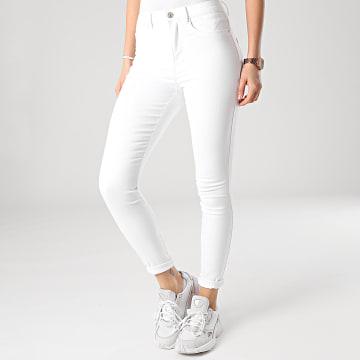 Only - Jean Skinny Femme Royal Life Blanc