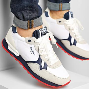 Pepe Jeans - Baskets Britt Man Mesh PMS30722 White