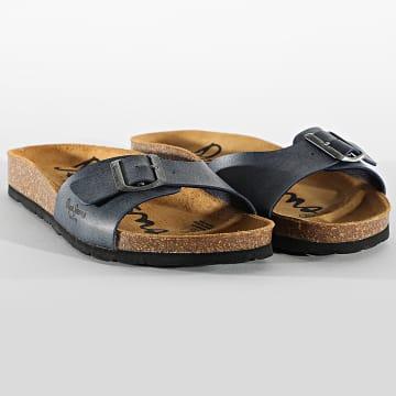Pepe Jeans - Sandales Bio Basic PMS90082 Bleu Marine