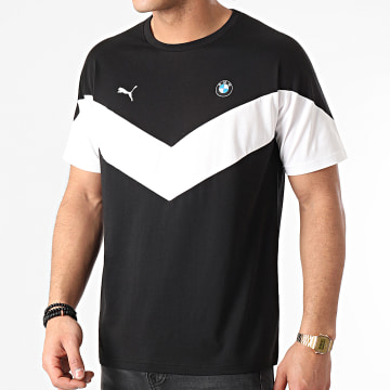 Puma - Tee Shirt BMW MMS MCS 599505 Noir Blanc