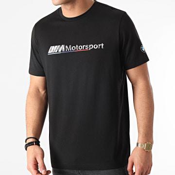 Puma - Tee Shirt BMW MMS Logo 599529 Noir