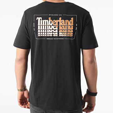Timberland - Tee Shirt Stacked A2E65 Noir