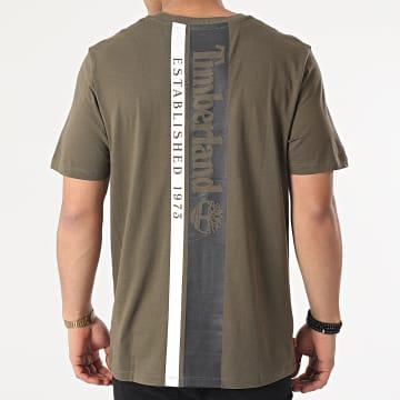 Timberland - Tee Shirt Established Back A2DVP Vert Kaki