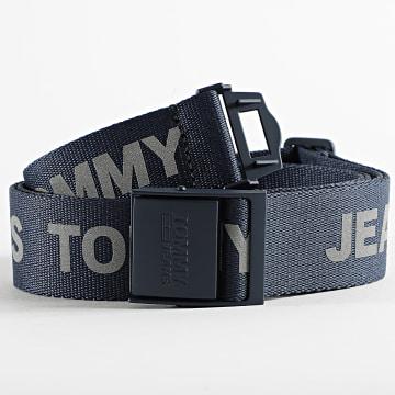 Tommy Jeans - Ceinture Fashion 7190 Bleu Marine Réfléchissant
