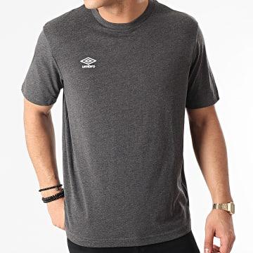 Umbro - Tee Shirt Net Gris Anthracite Chiné
