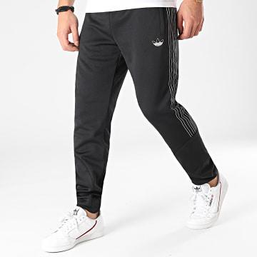 adidas - Pantalon Jogging A Bandes SPRT Poly GN2445 Noir