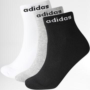 Adidas Performance - Lot De 3 Paires De Chaussettes Ankle GE6132 Noir