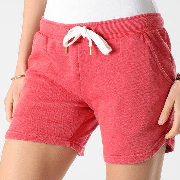 Girls Outfit - Short Jogging Femme Saco Rouge