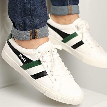 Gola - Baskets Varsity CMA331 Off White Black Green