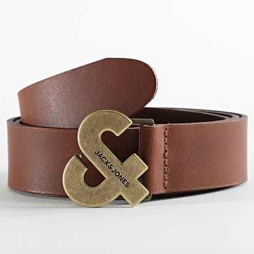 Jack And Jones - Ceinture Logo Buckle 12183857 Marron