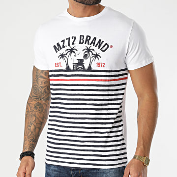 MZ72 - Tee Shirt The Swim Blanc
