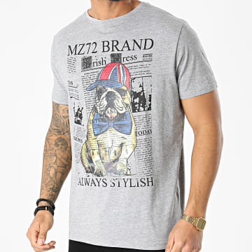 MZ72 - Tee Shirt The Dog Gris Chiné