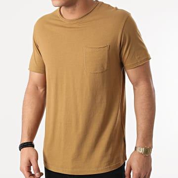Solid - Tee Shirt Poche Gaylin 21103652 Vert Kaki
