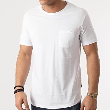 Solid - Tee Shirt Poche Gaylin 21103652 Blanc