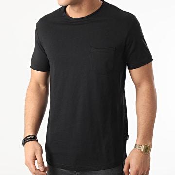 Solid - Tee Shirt Poche Gaylin 21103652 Noir