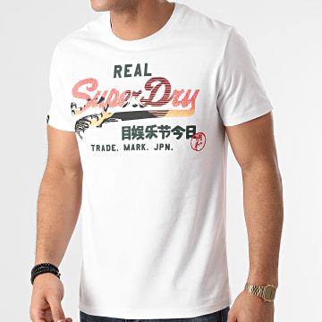 Superdry - Tee Shirt M1011004A Blanc