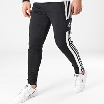 Adidas Performance - Pantalon Jogging A Bandes SQ21 GK9545 Noir