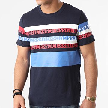 Guess - Tee Shirt M1RI87-K8HM0 Bleu Marine
