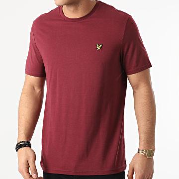 Lyle And Scott - Tee Shirt TS400VOG Bordeaux