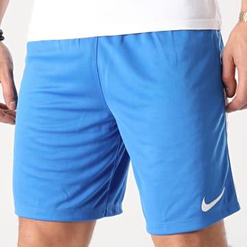 Nike - Short Jogging Knit League II Bleu