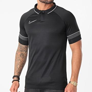 Nike - Polo Manches Courtes Academy 21 Noir