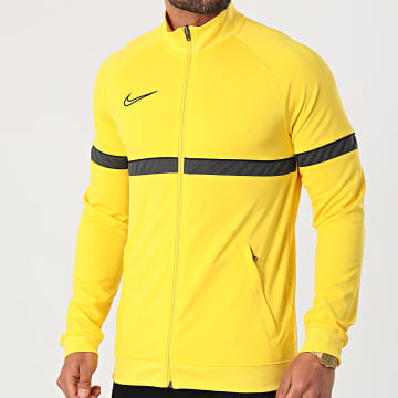 Nike - Veste De Sport Zippée Academy 21 Dry Jaune