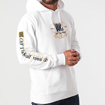 Vans - Sweat Capuche Frequency PO A54A8 Blanc
