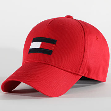 Tommy Hilfiger - Casquette Big Flag 6943 Rouge