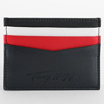 Tommy Hilfiger - Porte-cartes Signature 7267 Bleu Marine