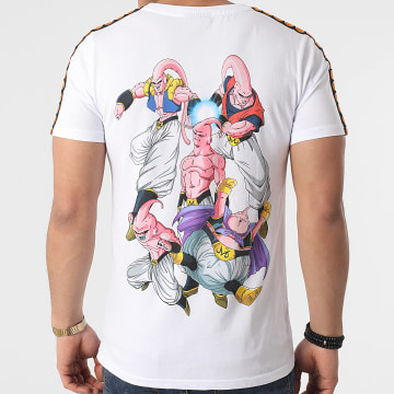 Dragon Ball Z - Tee Shirt A Bandes Buu 2021 Blanc