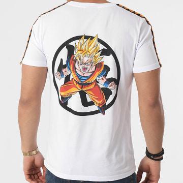 Dragon Ball Z - Tee Shirt A Bandes Goku 2021 Blanc