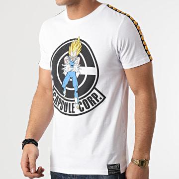 Dragon Ball Z - Tee Shirt A Bandes Capsule Corp Chest Blanc