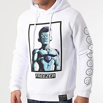 Dragon Ball Z - Sweat Capuche Freezer Self Chest Blanc