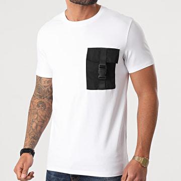Frilivin - Tee Shirt Poche BM1226 Blanc