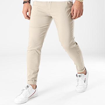 Frilivin - Pantalon Chino Skinny 1882 Beige