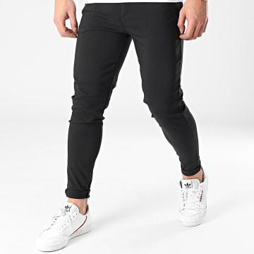 Frilivin - Pantalon Chino Skinny 1882 Noir