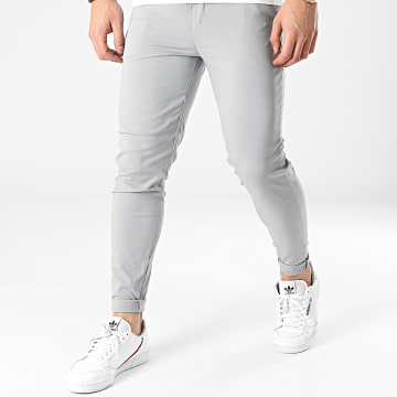 Frilivin - Pantalon Chino Skinny 1882 Gris