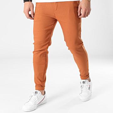 Frilivin - Pantalon Chino 1697 Orange